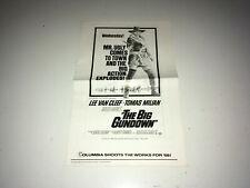 BIG GUNDOWN Original Movie Pressbook Lee Van Cleef Spaghetti Western Milian