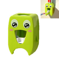 Automatic Toothpaste Dispenser Squeezer Creative Wall Mounted Toothbrush Holder