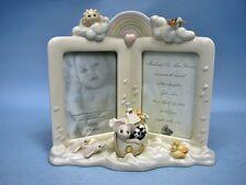 Lenox Noah's Ark Double Picture Frame - Retail $75