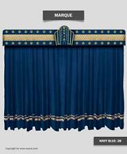 Saaria Marque Decorative Stage Curtains & Movie Theater Valance Curtain 10'Wx8'H