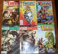 TUROK Valiant Comics Lot Yearbook The Hunted 0 8 Son of Stone 1 2 Dark Horse