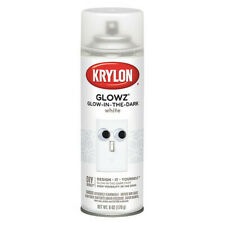 KRYLON K03152007 Glow-in-the-Dark Spray Paint, White, Gloss, 6 oz.