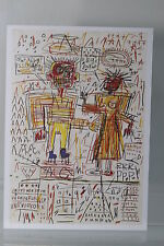 "JEAN-MICHEL BASQUIAT : ""SELF PORTRAIT WITH SUZANNE""  Kunst-Postkarte"