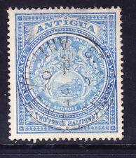ANTIGUA EdVII 1908 SG46a 21/2d blue - watermark Multiple Crown CA - f/u. Cat £25
