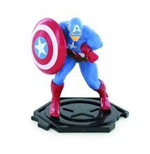 Marvel Avengers Capitan America Comansi Giocattolo Statuetta Topper per Torta