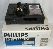 Philips CD-I 910 with Digital Video Cartridge / Remote *COMPLETE IN ORIGINAL BOX