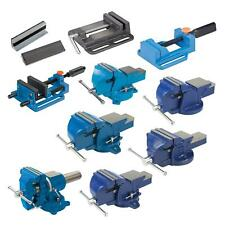 456 Heavy Duty Work Bench Vice Engineer Jaw Swivel Base Workshop Vise Clamp