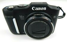 Canon PowerShot SX160 IS 16.0MP Digital Camera - Black with soft case