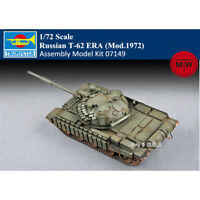 Trumpeter 07149 1/72 Russian T-62 ERA (Mod.1972) Military Assembly Model Kits