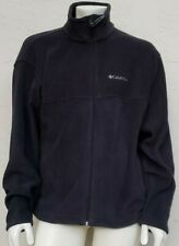 Columbia Flattop Ridge Men's Fleece Coat Jacket Black Large (L)