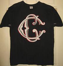 CROOKS AND CASTLES Shirt L Fancy CC Design CSTC C&C Street Wear HTF RARE OOP