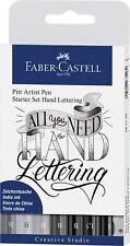 "UK Faber Castell ""All You Need"" Hand-Lettering Pens Starter Set"