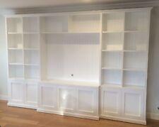 """Kellyville"" Classic Integrated Wall Unit Bookshelf Living Room Furniture"