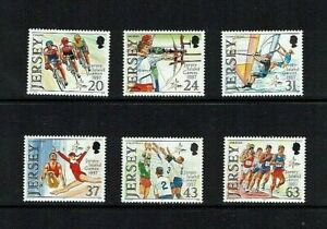 Jersey: 1997, 7th Island Games, Cycling, Sailing,  MNH set.