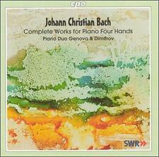 J.C. Bach: Complete Works for Piano Four Hands, New Music