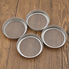 4 Pcs Strainer Sprouting Lid for Jar Sprout Kitchen Dining Decor Stainless Steel