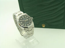 Rolex Explorer I Automatikuhr Ref 114270 in Edelstahl Uhr + Rolex Box