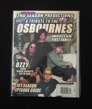 Tribute to the Osbournes 2002-Celebrity Series Special Edition Magazine-Mint