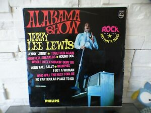 JERRY LEE LEWIS Alabama Show LP ORIGINAL FRANCE 1964