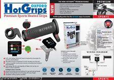 Oxford climatización para sportbikes electrónico 5 niveles de sistema Hot-Grips