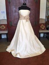 AUTHENTIC CAROLINA HERRERA Bridal Gown ,Sz 12!! NWT