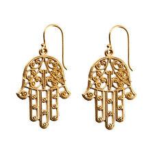 Orecchini di bigiotteria gancetto in oro ottone