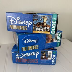 Disney Tigger/ Mickey Mouse/ Winnie Photomosaics 1000 Piece Puzzle Búfalo games