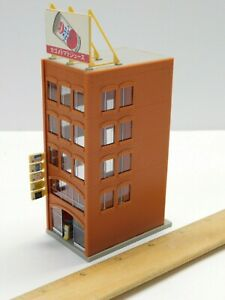 N Scale 1:160 - TOMIX - Downtown Building Structure For Model Train Layout
