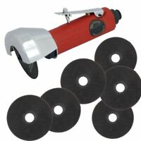 "3"" 75mm Air Cut Off Tool Grinder Cutter Includes 6 Discs"