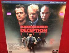 Laserdisc R * Incident at Deception Ridge * Michael O'Keefe Ed Begley Jr Rare