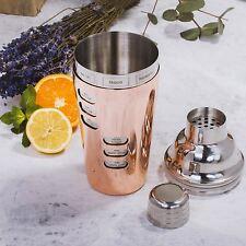 SOIRE E-Ricetta Cocktail Shaker da Rame Kit Set Vintage Maker ricette