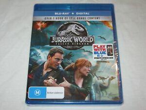 Jurassic World - Fallen Kingdom - Brand New & Sealed - Region B - Blu Ray