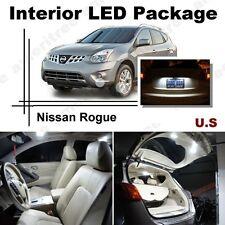 For Nissan Rogue 2008-2013 Xenon White LED Interior kit +White License Light LED