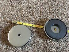 """(4) SET 50# ~2"""" MINI LIGHTBAR CUP MAGNET CODE 3 FEDERAL WHELEN"""
