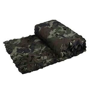 Camo Netting, 3D Bionic Tree Camouflage 6.5x26ft(2Mx8M) US 4 color woodland