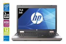 HP ProBook 6550b - 15,6 Zoll - Core i5 450M @ 2,4 GHz - 2GB RAM - 320GB HDD -