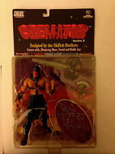 1999 MOORE COLLECTIBLES CHAOS COMICS LADY DEATH SERIES 2 CREMATOR ACTION FIGURE