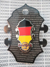 Hard Rock Cafe Cologne 2014 - Core Headstock Guitar - German Flag Pin on Card