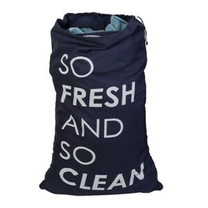 Honey-Can-Do So Fresh & So Clean Divided Clothes Laundry Bag Holds 2 Loads