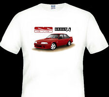 HOLDEN  BROCK  VL  GROUP A SS  COMMODORE  QUALITY WHITE TSHIRT  BIG  FIT