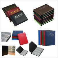 60/120 Holders Collecting Money Coin Album Book Storage Collection Penny HG