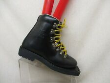 Asolo Sport Extreme Black Leather Lace Up Snow Boots Mens Size 4 M Style 941 Guc