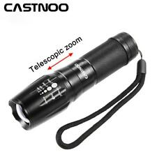 5000LM Zoomable  X-XML T6 LED 18650 Flashlight Focus Torch Zoom Lamp Light WT