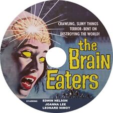 The Brain Eaters (1958 Cult Sci-Fi film) Mod Dvd disc only