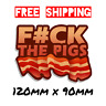 Funny Police Sticker Car Window Decal Vinyl Pig Cops Bacon 4X4 JDM Drift