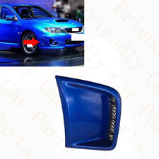 1xFor Subaru Impreza STI 2007-15 Blue Front Bumper Right Passenger Air Vent Grid
