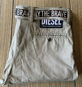 Diesel Men's Military Cargo Combat Pants Sz 36x33