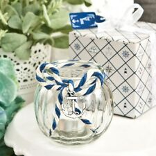 60 Nautical Anchor Glass Globe Candle Wedding Bridal Shower Party Gift Favors
