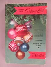 Montgomery Ward CATALOG - Christmas, 1958 ~~ toy, toys; 544 pages; Wards