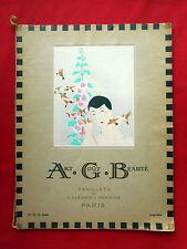 A.G.B. Art Goût Beauté 1926 août No 72, édition originaux.
